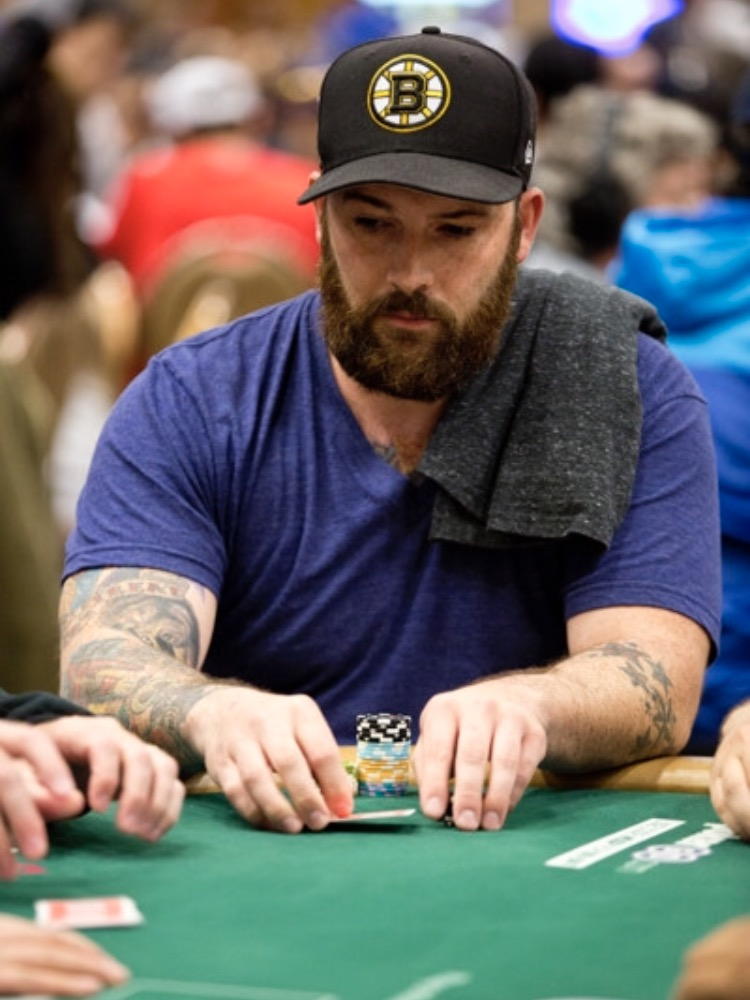 This is what I look like when I play poker apparently.