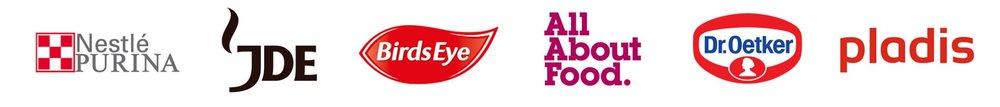 FMCG Client logos