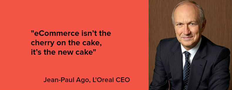 L'Oreal eCommerce quote