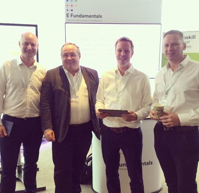 E Fundamentals Customer Success team; from left - Scott Kipling, John Maltman, Ian Rowlands & Marcus Vallance