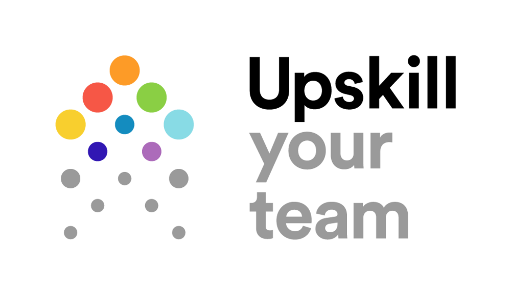 Upskill your team logo