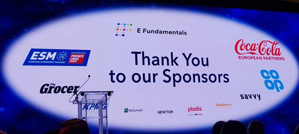 E Fundamentals sponsor IGD