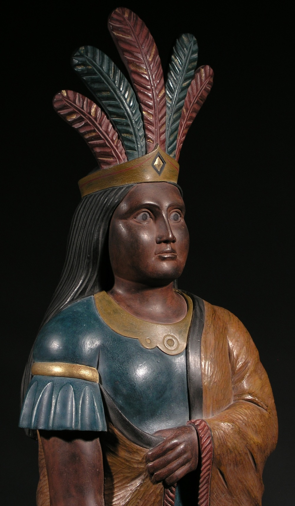 Indian Princess Tobacconist Figure