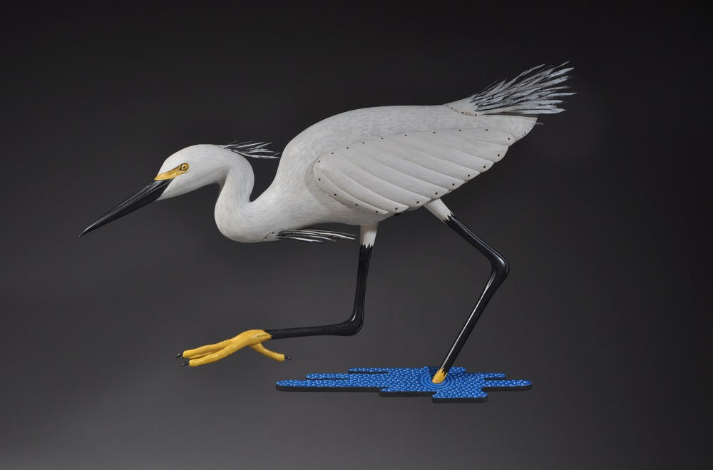 Snowy Egret - Waiting to Strike