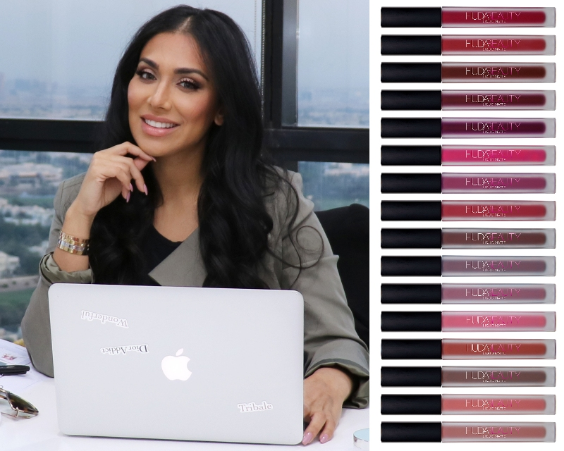 Huda Kattan launches Liquid Matte Lipstick for National Lipstick Day