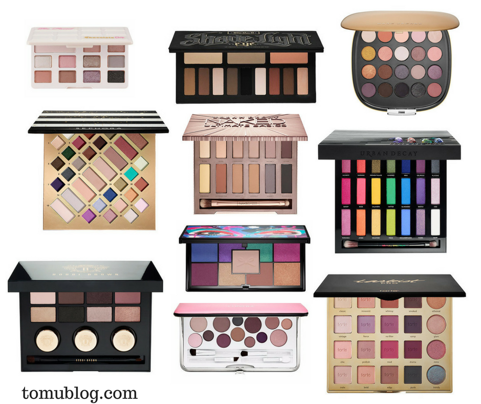 Best Eyeshadow Palette Gifts for Christmas 2016