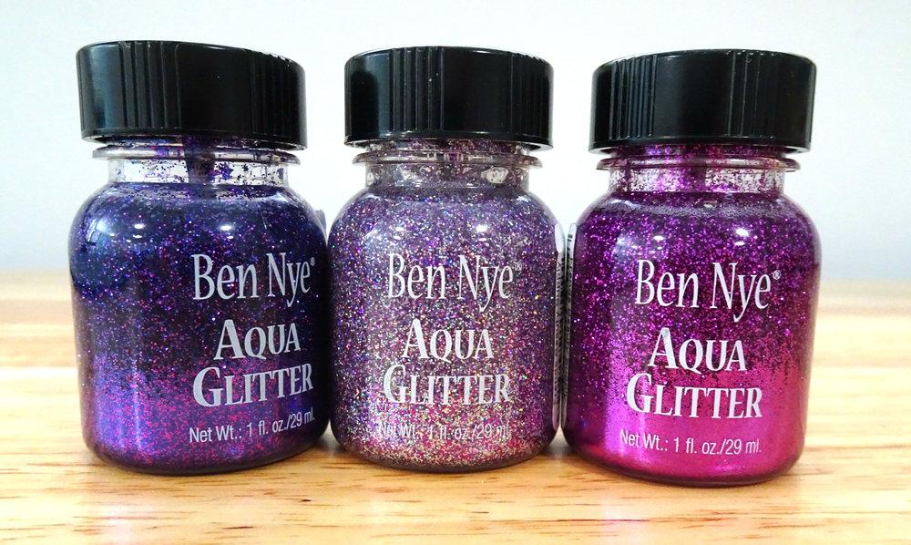 AG-7 Purple, AG-11 Galactic Violet, AG-5 Fuchsia