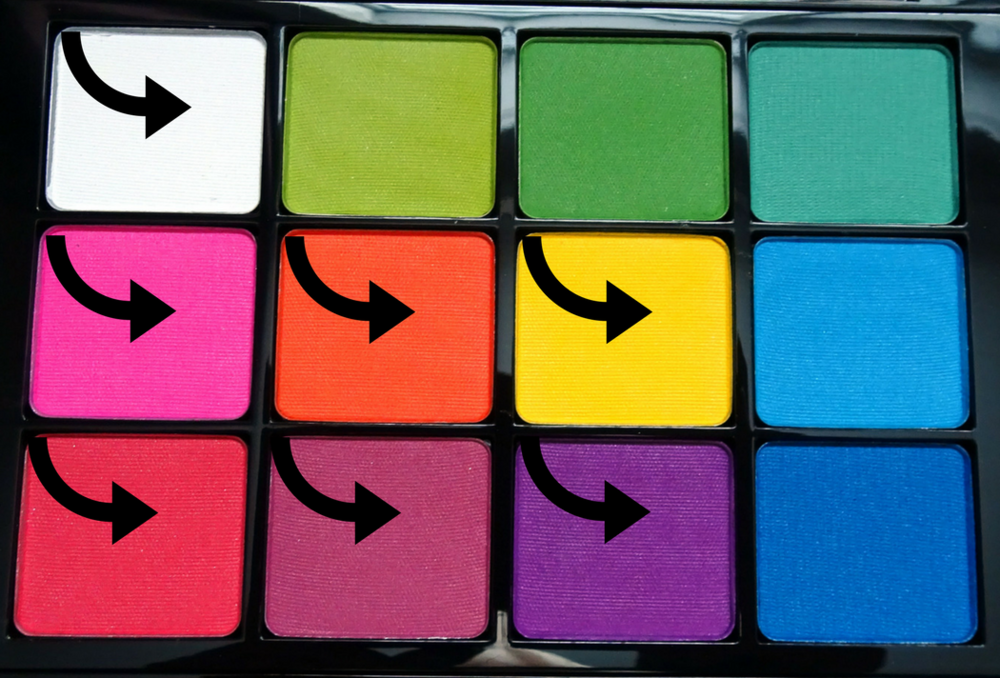 Viseart Editorial Brights Palette