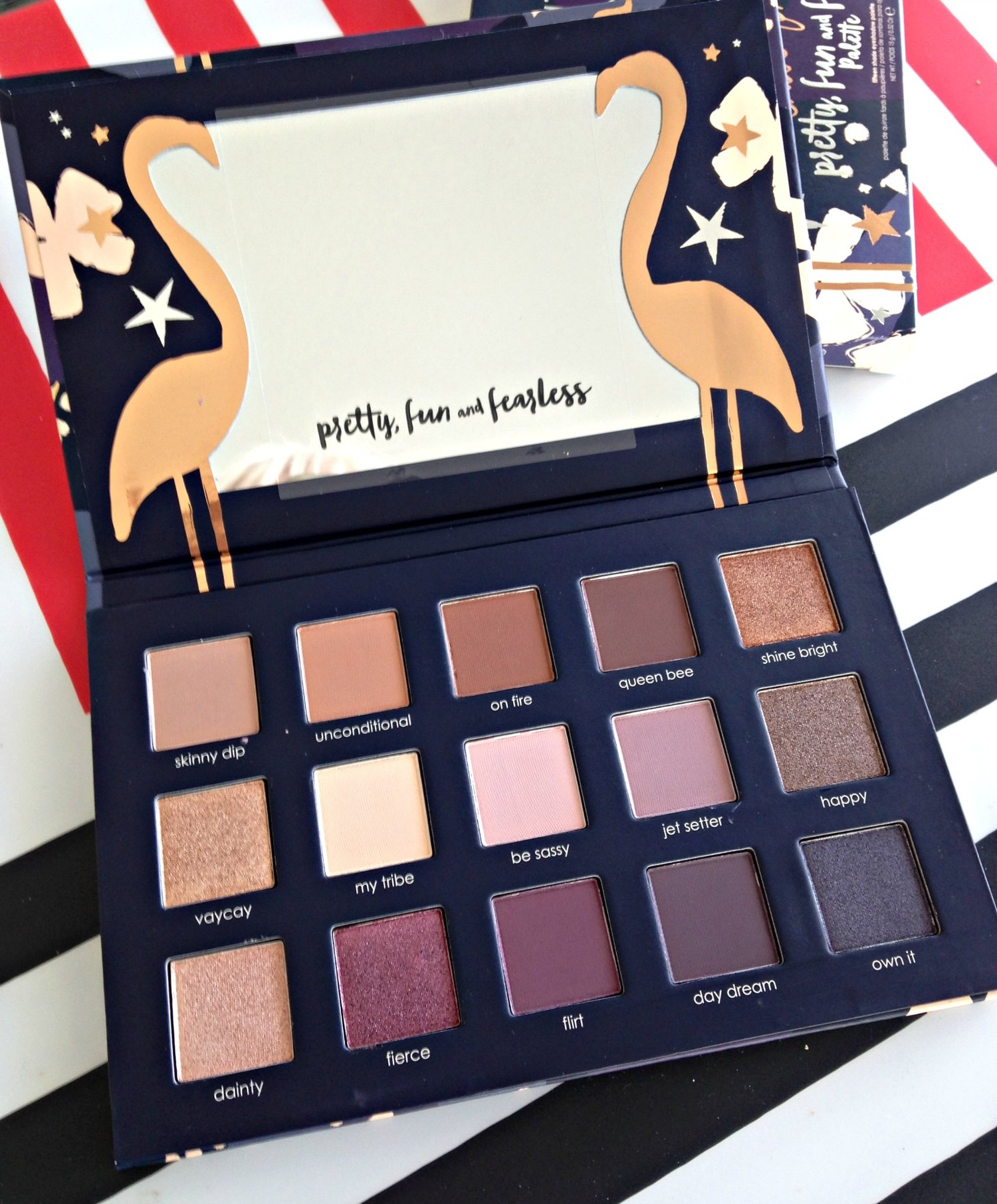 Ciate London x Chloe Morello Pretty, Fun and Fearless Eyeshadow Palette Review, Swatches and Photos