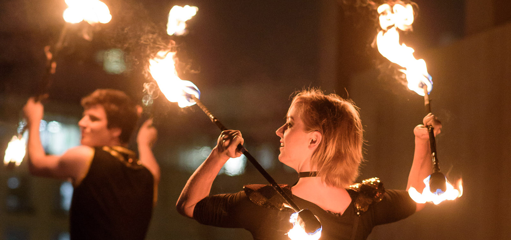 the hottest event we have ever hosted. the fire spinners put on an amazing display
