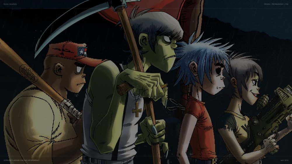 © Gorillaz & Eleven Management
