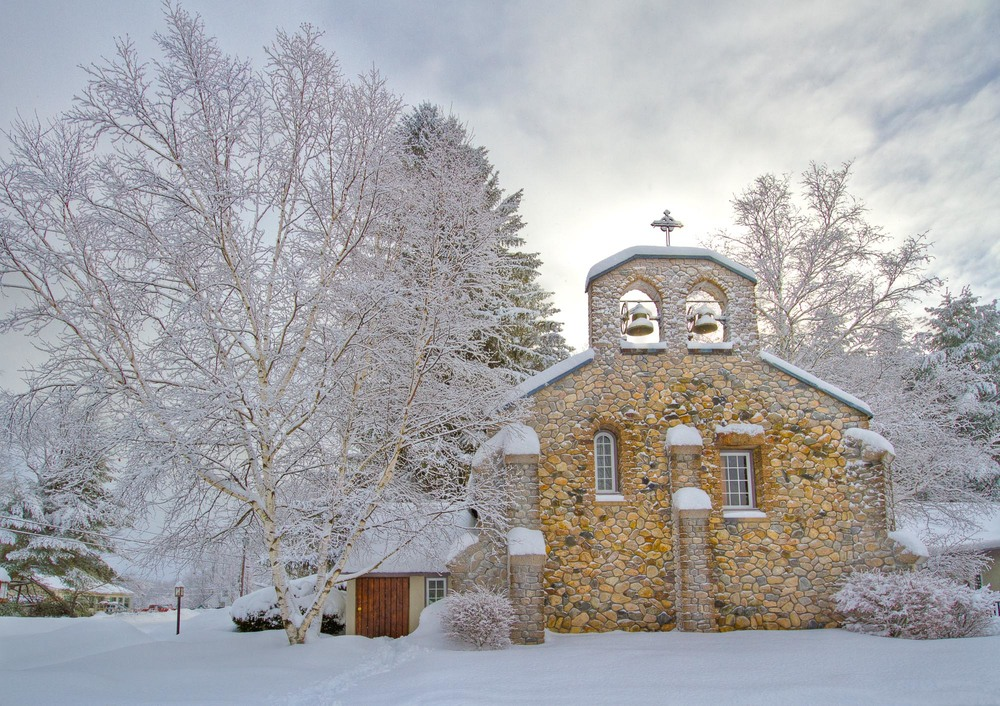 St. Andrews Church in Winter