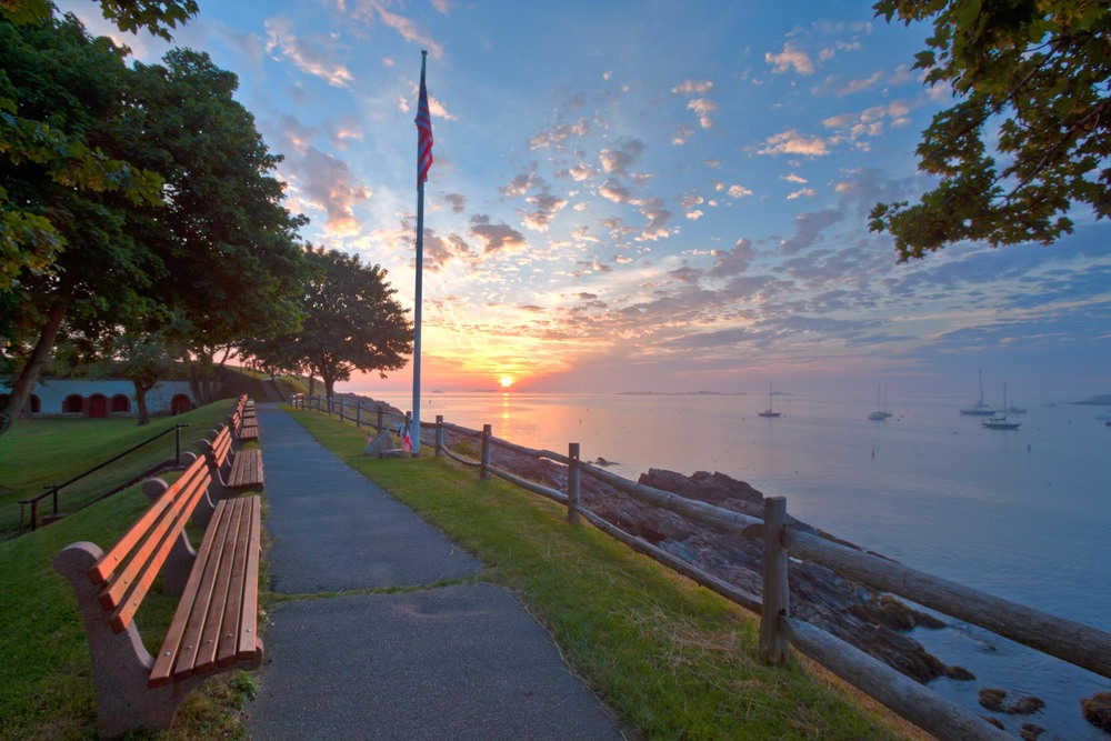 """Fort Sewall Sunrise"""