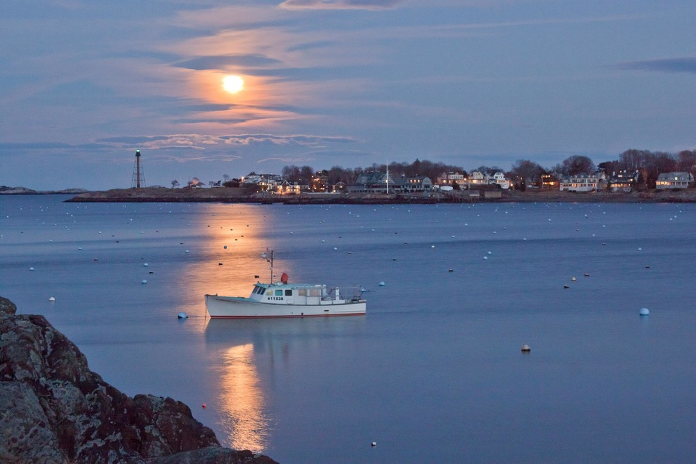Full Moon/Marblehead Harbor
