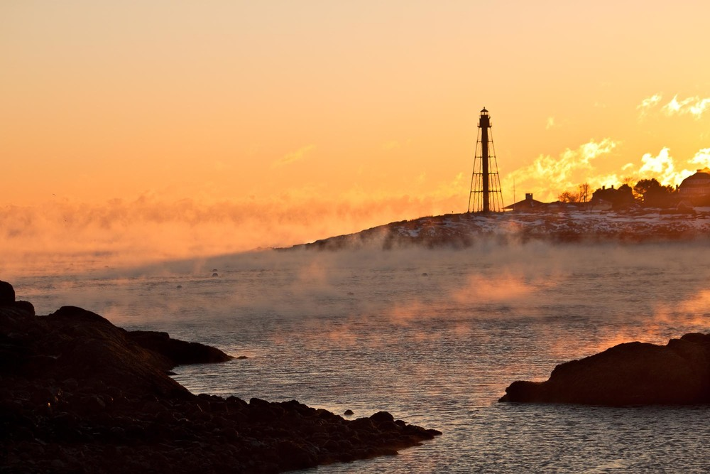 Sea Smoke ~ Marblehead Light