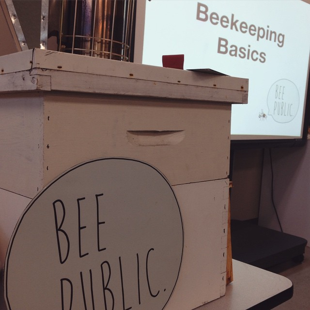 Thanks to everybody who came to two days beekeeping class, I don't think I've ever had one last so long. So many great questions, I love curious minds. (at Chase Near Eastside Legacy Center)