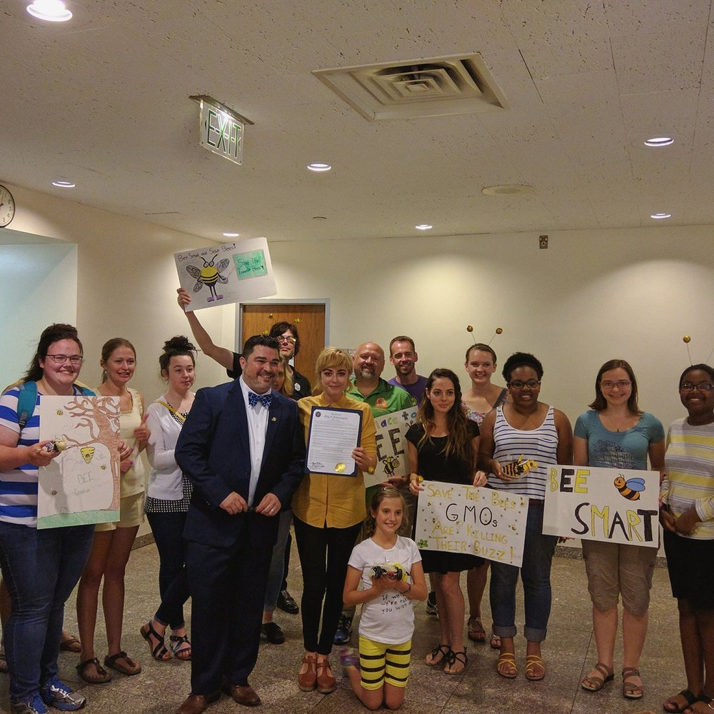 On June 6, 2016 Indianapolis City Council passed a resolution recognizing the importance of pollinators and urging the city of Indianapolis to refrain from the use of neonicotinoid pesticides.