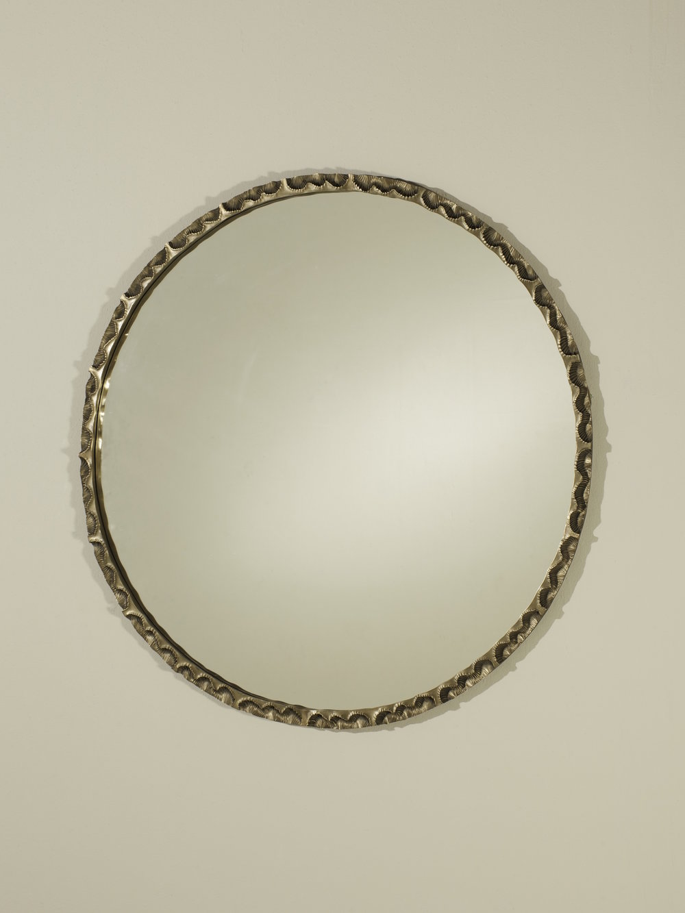 'Spirifer' - round 2013    Bronze, float glass    830 mm diameter 30 mm deep    Ed of 5 - 3 AP