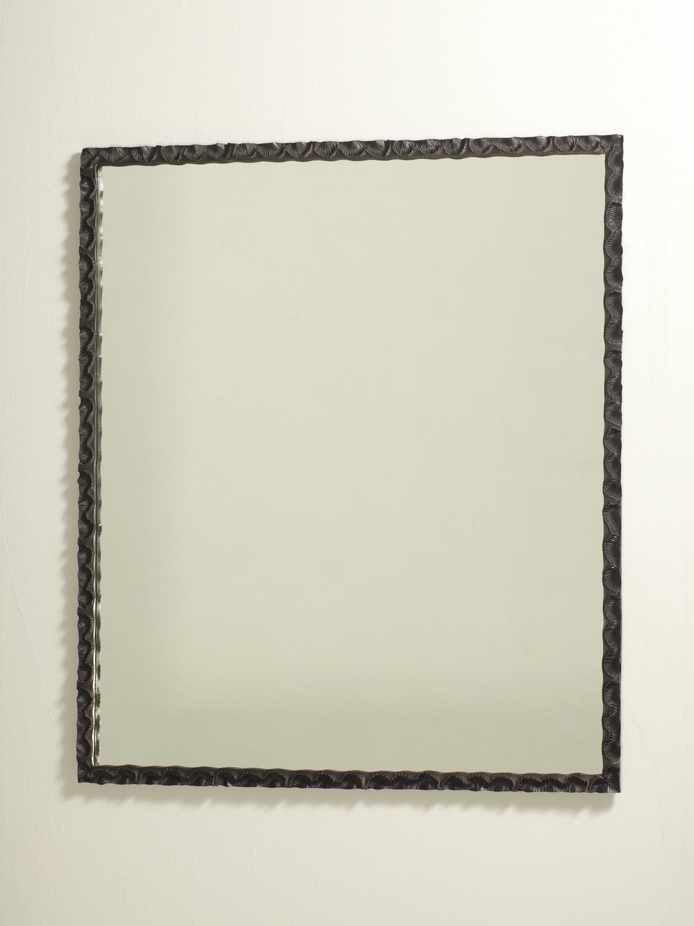 'Spirifer' - rectangular 2010 (black)    Bronze float glass    850w X 990h X 30 mm deep    Ed of 5 - 3 AP