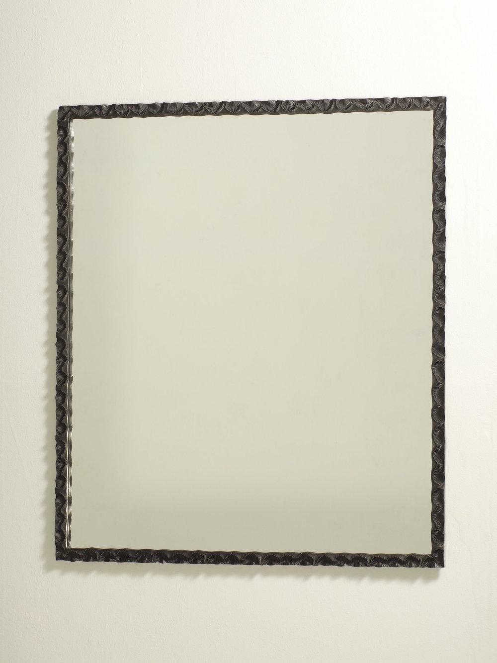 'Spirifer' - rectangular 2010 (black)    Bronze float glass    850w X 990h X 30 mm deep    Ed of 5 - 3 AP