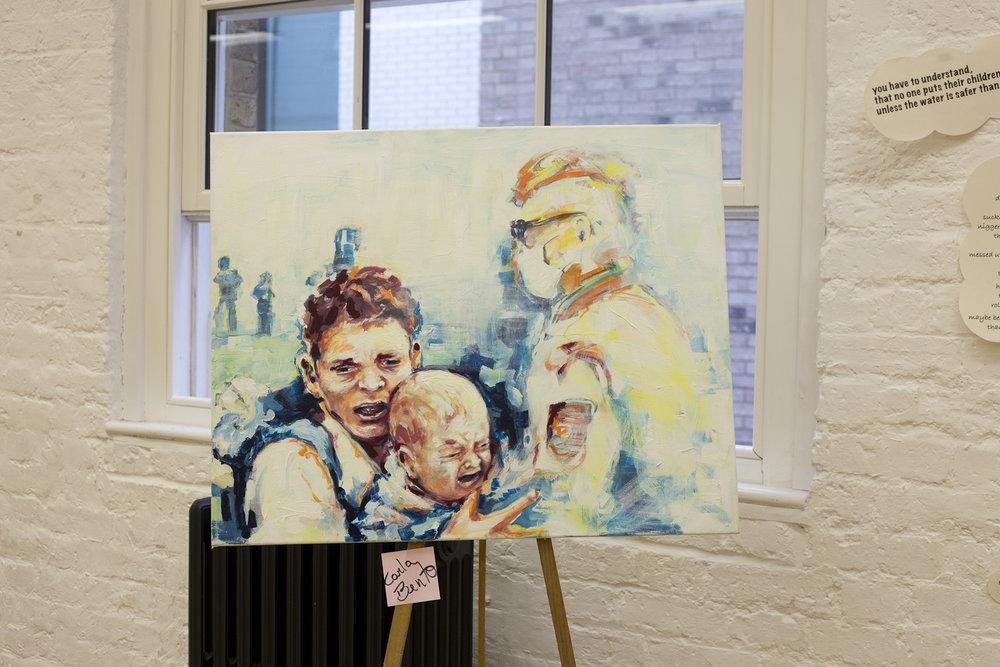 Artist Carla Bento