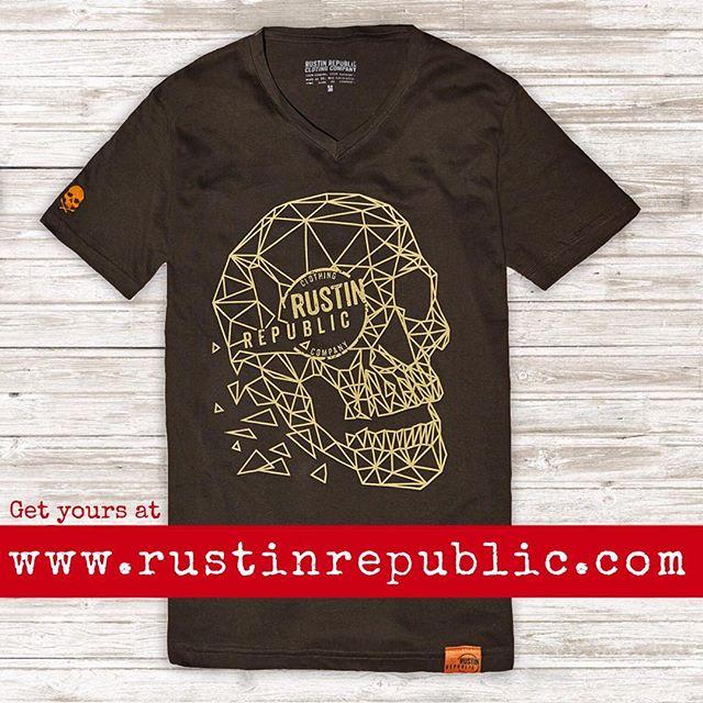 Geometric skull tee 💀 now available in our shop! www.rustinrepublic.com #badass #geometric #skull #rustinrepublic #dubromantics #clothingbrand #vw #volkswagenlife #volkswagen #car #bug #beetle #split #vintage #oldschool #clothing #styling #fashion #vwlove #print #embroidery #lines #lifestylebrand #aircooledvw #oldvwclub #vwlifestyle #vwporn #buslife #vwfamily