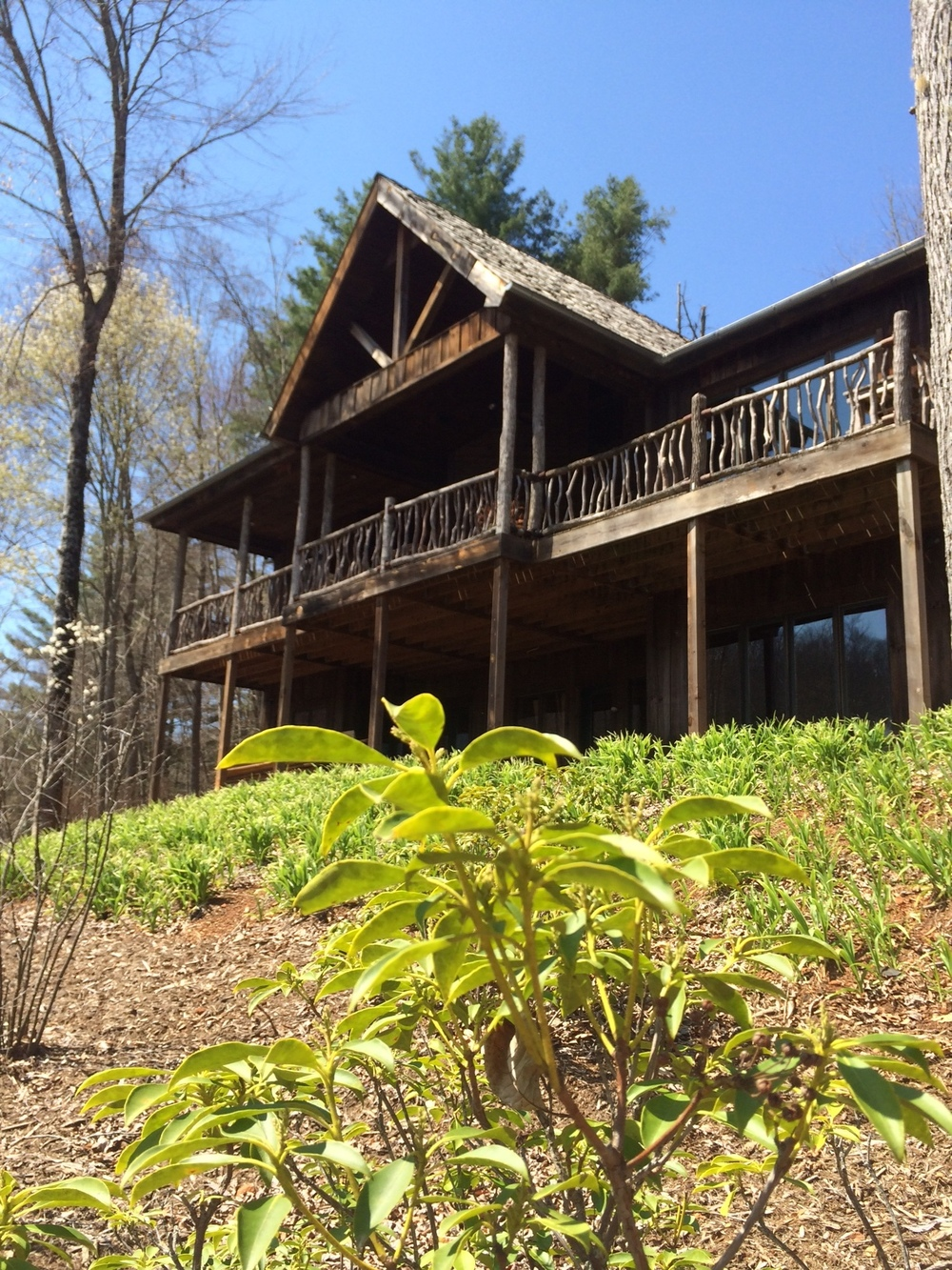 Balsam Mountain Lodge Rustic Mountain House Plans
