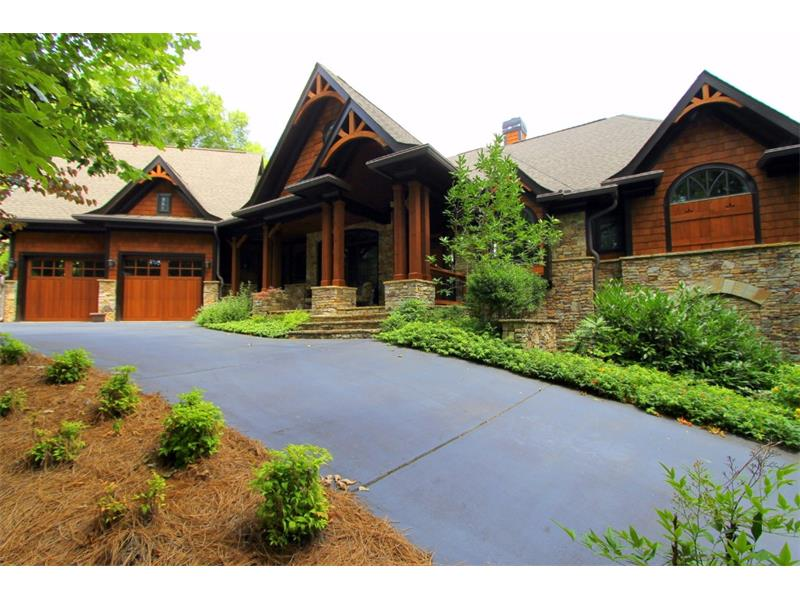 Nantahala House Plan — Rustic Mountain Homes | Amicalola Home Plans