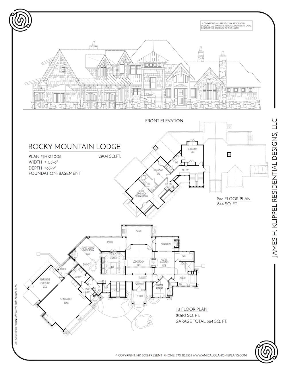 rocky mountain lodge  u2014 rustic mountain house plans