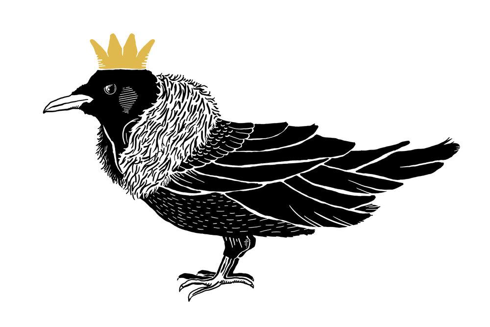 Snow King Crow
