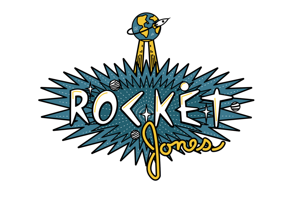 Rocket Jones T-shirt Design