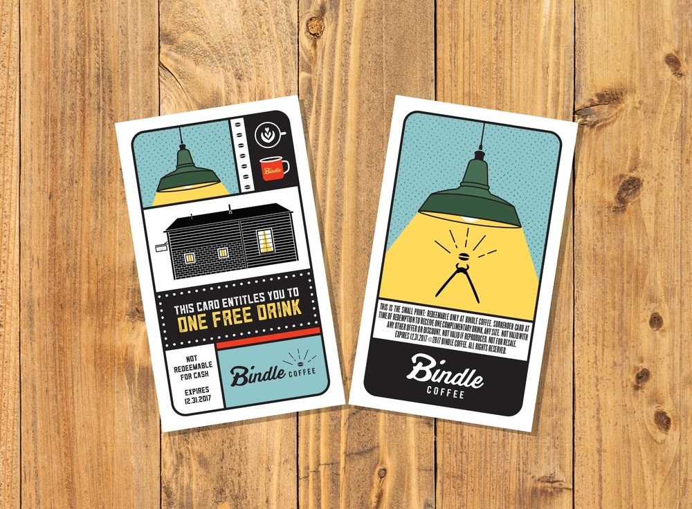 Bindle Free Drink Card