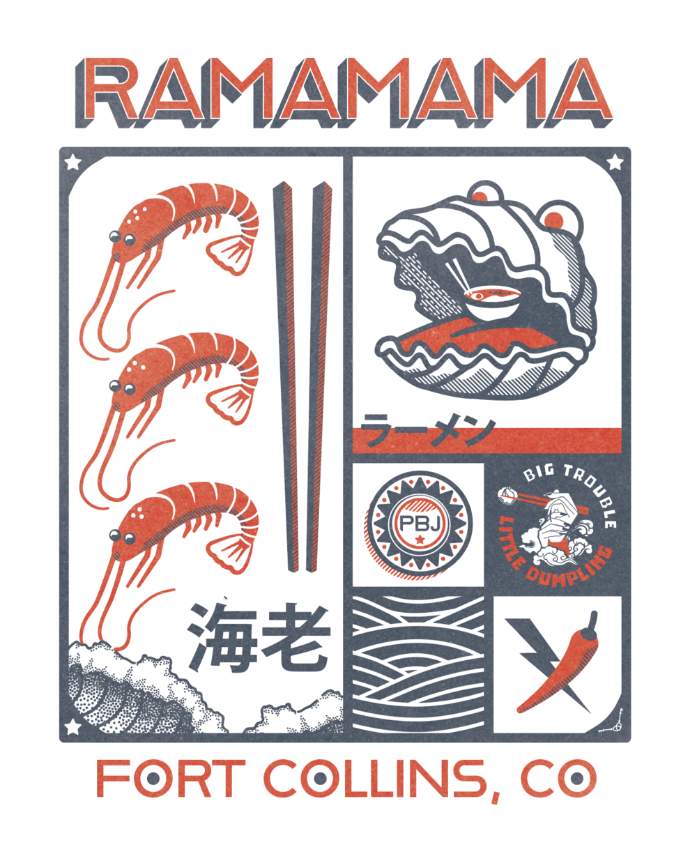 Limited Edition Ramamama Pop-up T shirt