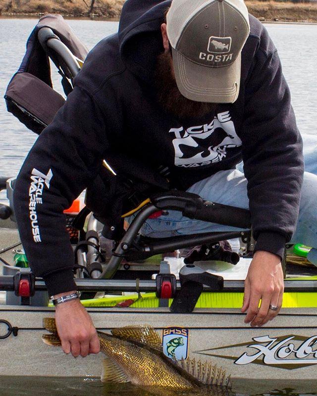 Jim Needler releasing a nice saugeye today!!! Always love being able to capture cool moments for friends while fishing! #fishing #kayakfishing #walleyefishing #saugeye #colorado #btfmfishing #ericalleephoto