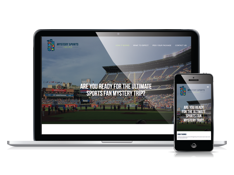Mystery Sports Trips Responsive Web Design