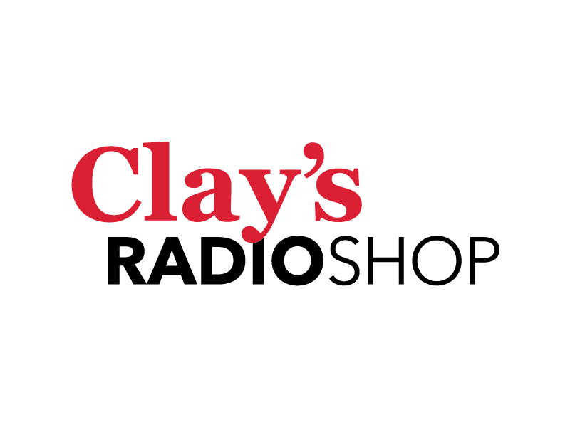 Clay's Radio Shop Logo Design