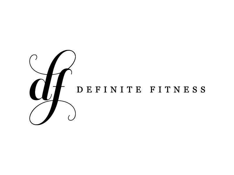 Definite Fitness Logo Design