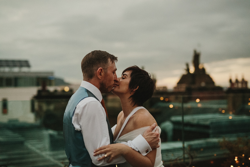 Nuala & Caolan's  - Roof top wedding