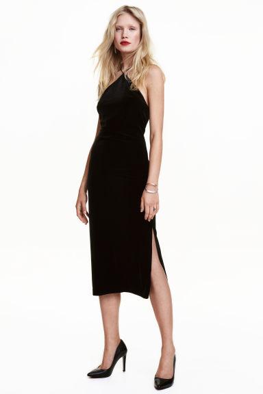 Crushed velvet dress, £29.99, H&M