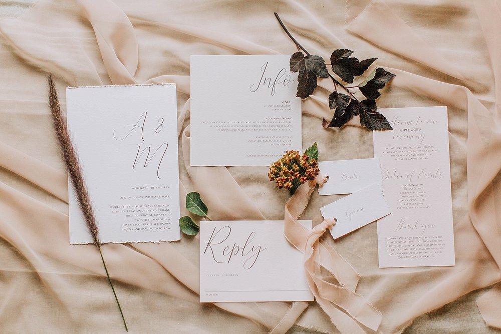 Freckles & fERN - Wedding Stationery