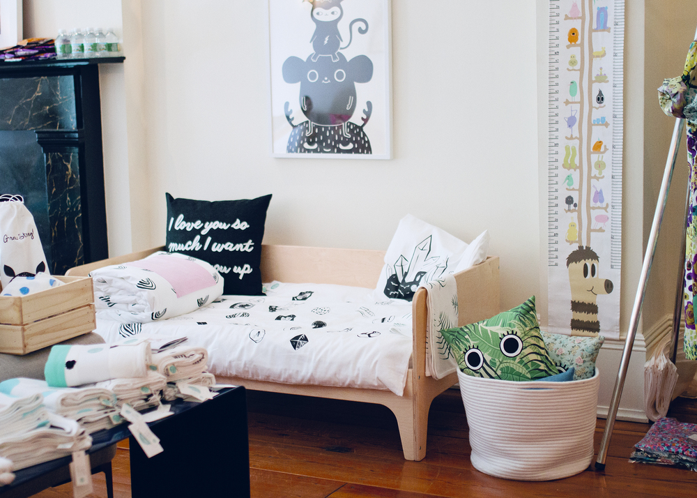Natti Natti: An organic children's bedding line inspired by Sweden and handmade in Brooklyn, USA