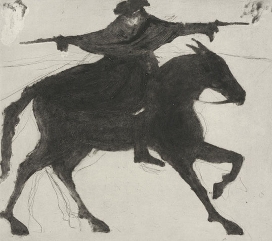 DICK TURPIN ON HIS WAY TO YORK £725