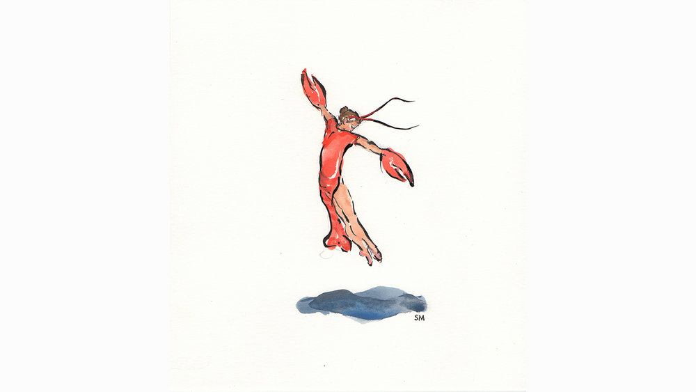 LEAPING LOBSTER £135