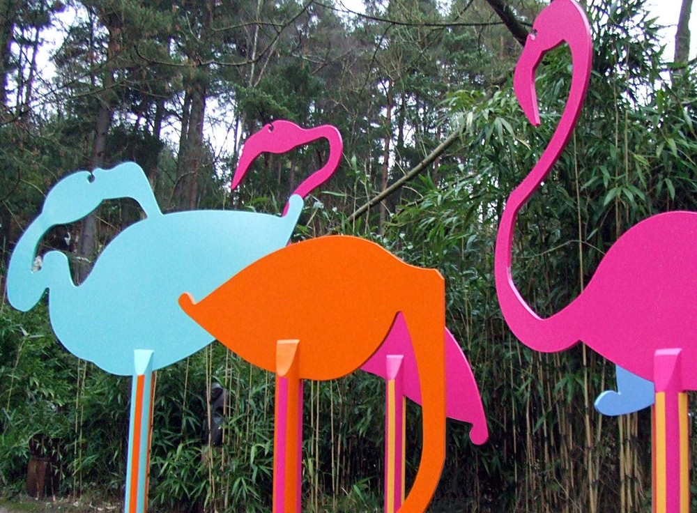 Flamboyance of Flamingos   ©    Text☰