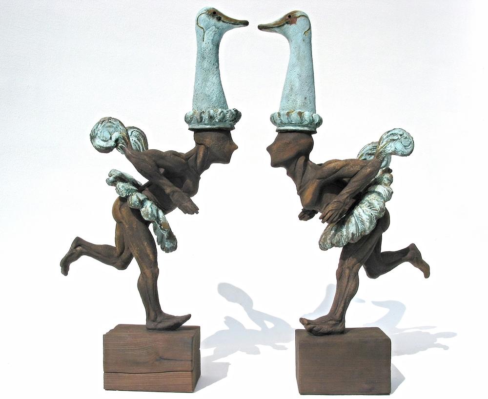 Ballet d'autruche  ©   Text☰