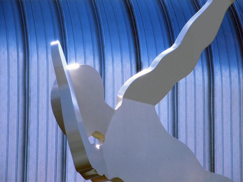 Kandi Sky (Detail) 22 x 11 metres, Teesdide Regeneration Programme, 2008