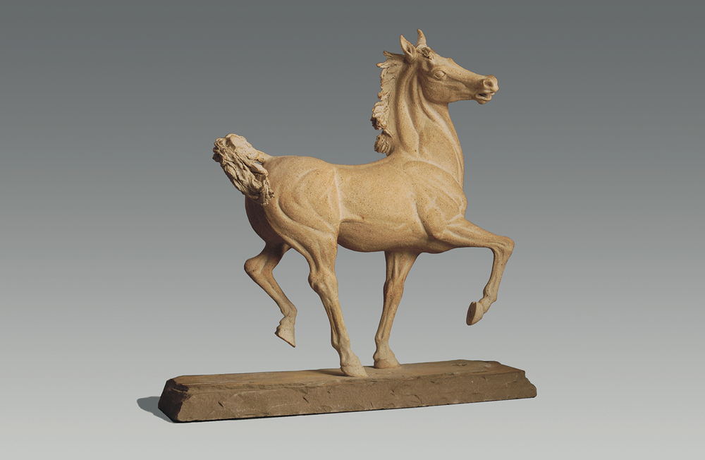 Equus  ©  58.5 cm high x 56 cm wide  Unique