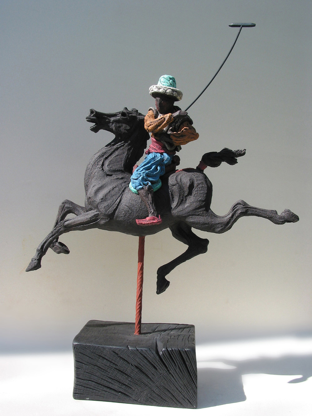 Persian Polo l   ©  78 cm high x 55 cm wide  Unique