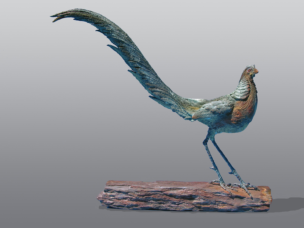 Firebird  ©  70 cm high x 77 cm wide  Unique