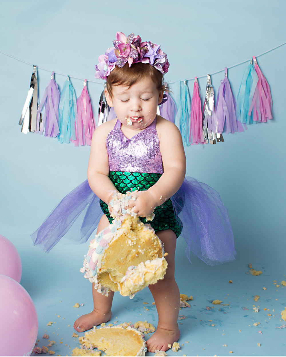 Karen Kimmins Photography- Cake smash birthday shoot..jpg
